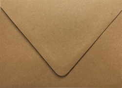 Picture of A7 - 100% Recycled Arrow™ Kraft (Brown Bag Kraft) Euro Flap