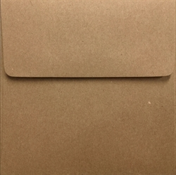 Picture of 5 x 5 Square 100% Recycled Arrow™ Kraft (Brown Bag Kraft)