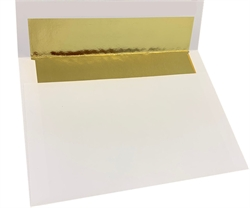Picture of 5 7/8 x 8 1/4 Gold Foil Lined - Regular Gum