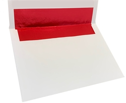 Picture of 5 7/8 x 8 1/4 Red Foil Lined - Regular Gum