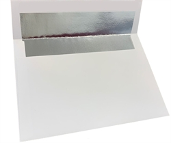 Picture of 5 7/8 x 8 1/4 Silver Foil Lined - Regular Gum