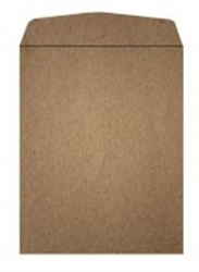 Picture of 6 1/2 x 9 1/2 open end, 100% Recycled Arrow™ Kraft