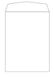 Picture of 9 1/2 x 12 1/2 open end, 70# Arrow™ Bright White