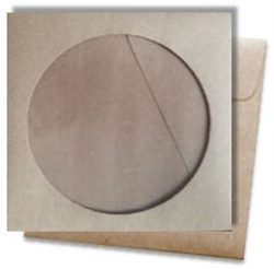Picture of 4 7/8 x 5 CD-Rom with Window 100% Recycled Arrow™ Kraft