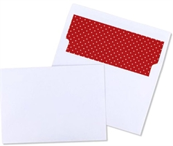 Picture of A7 Arrow™ 60lb Bright White - Polka Dot Liner